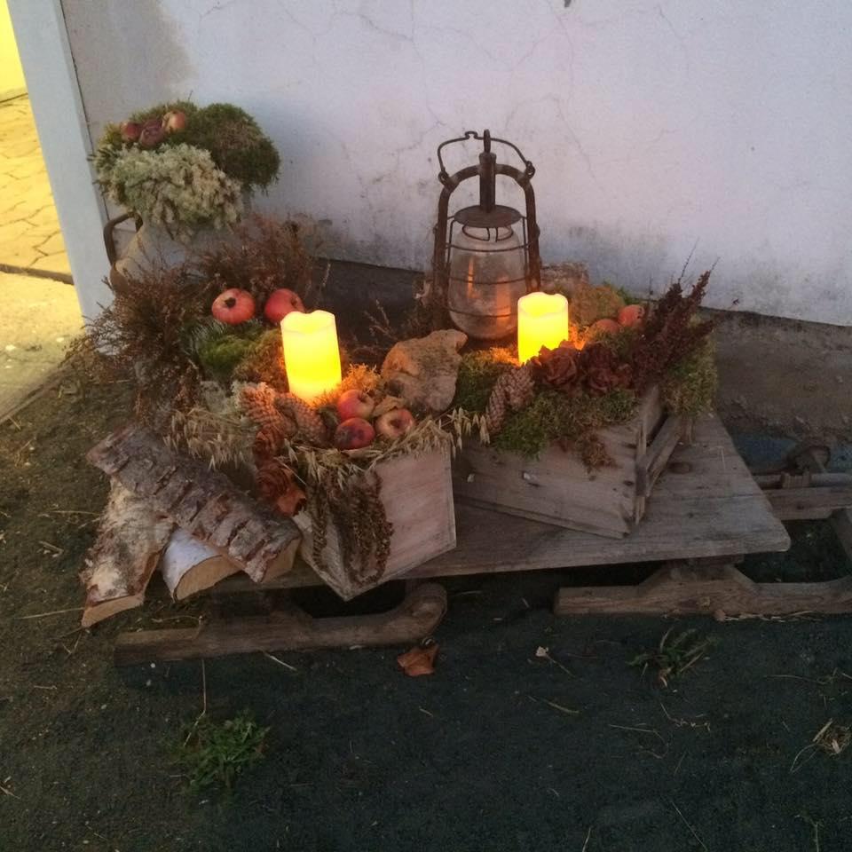 1:a advent på Hermansdal