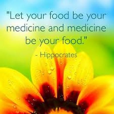 Mat är medicin…